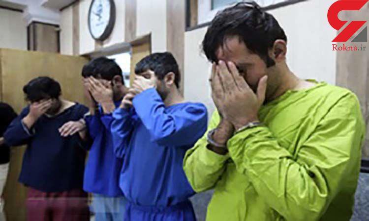 باند سارقان منازل در اصفهان دستگیر شدند