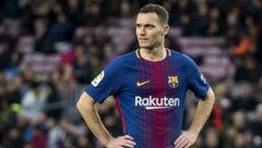 مدافع بارسلونا بازی با رئال مادرید را از دست داد