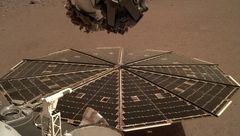 نخستین سلفی  ثبت شده در مریخ+عکس