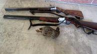 دستگیری شکارچی متخلف در مهران