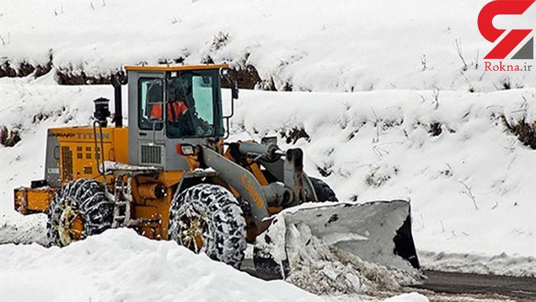 راه ۲۲ روستا در طالقان بسته شد