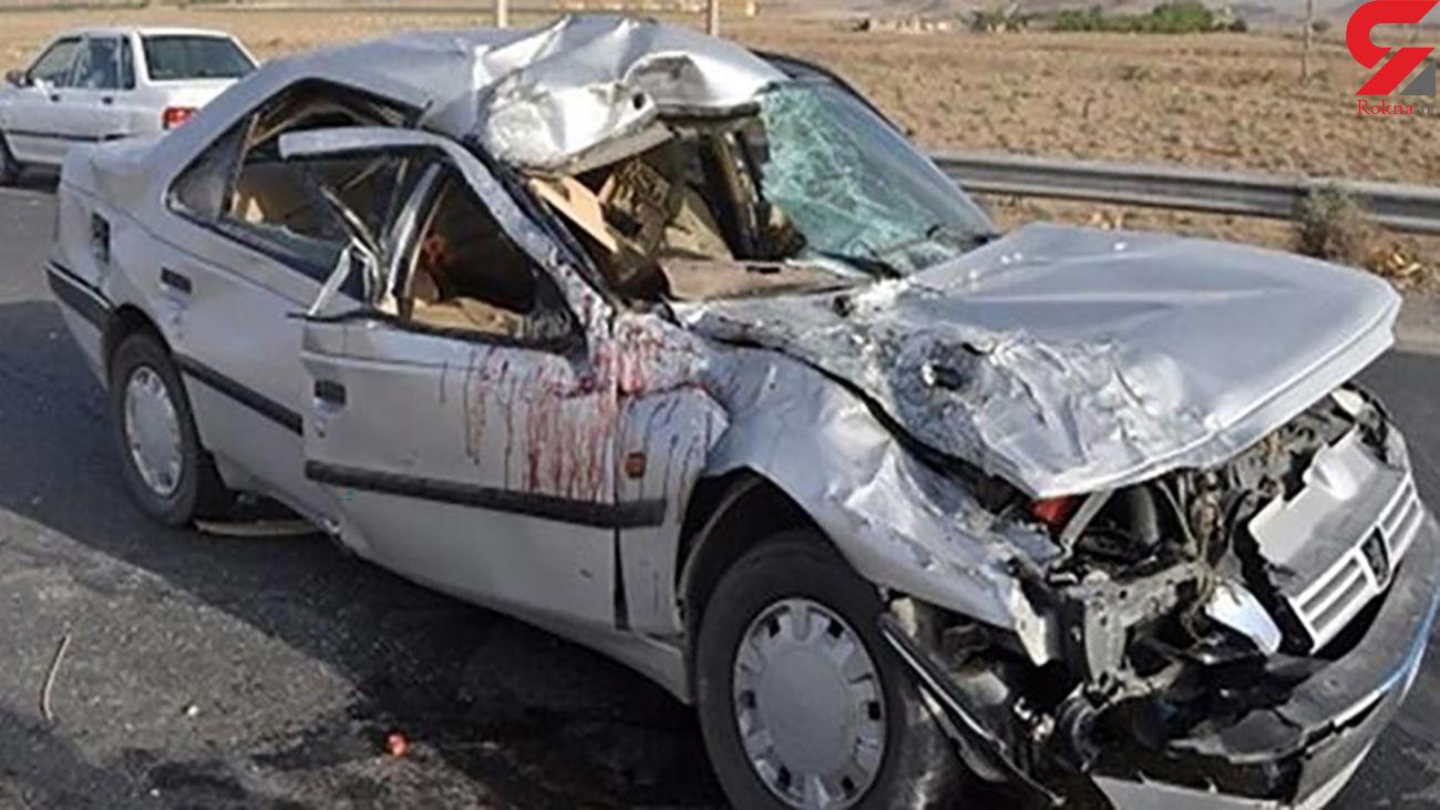 تصادف مرگبار با 3 کشته در اهر به تبریز