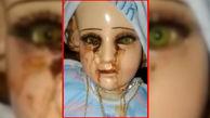 فیلمی عجیب از عروسکی که خون گریه می کند