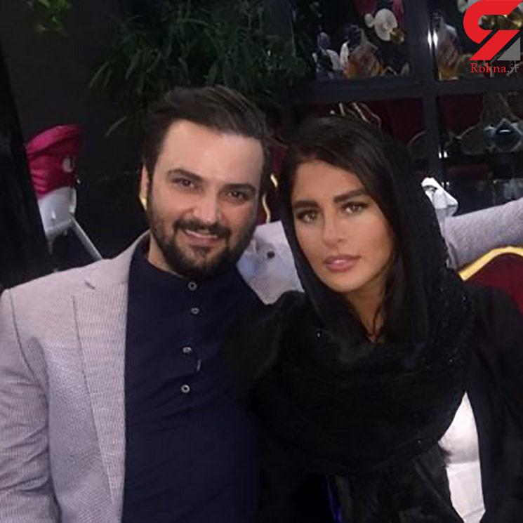 مهدی سلوکی در کنار همسرش+ عکس