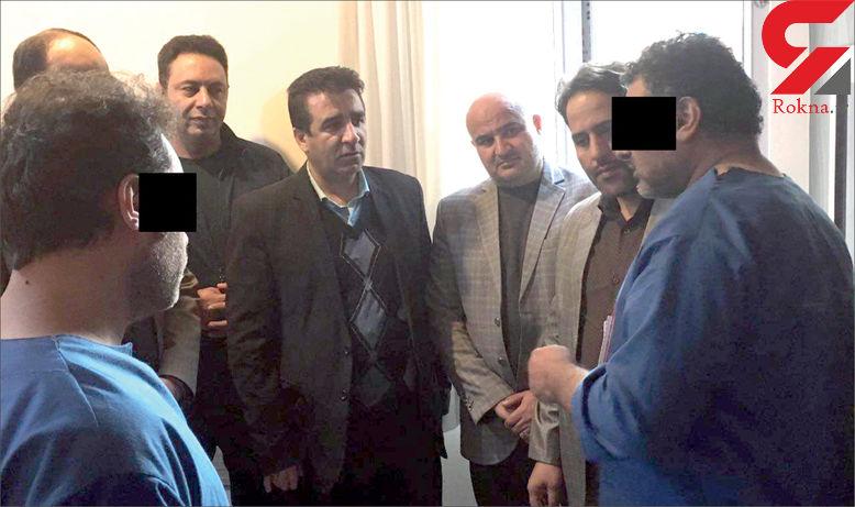 بازگشت 2 قاتل به قتلگاه مرد مشهدی! / آنها وسوسه دلار شده بودند! + عکس