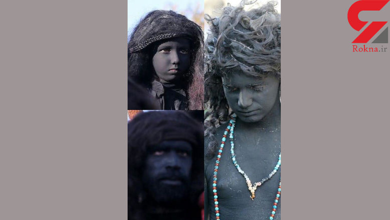 حکایت عجیب دسته جنیها در مراسم تعزیه نوشآبادی ها + عکس
