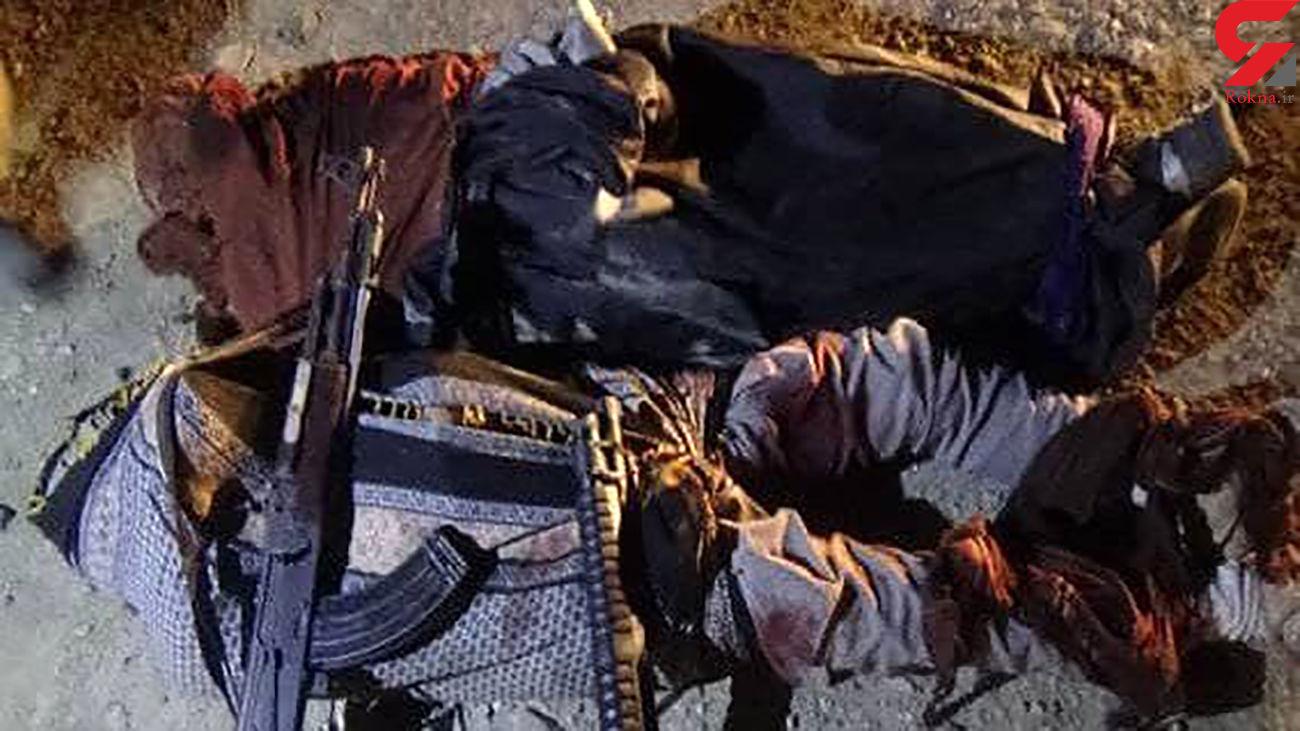 عکس جنازه های 2 شرور بعد از هلاکت در هرمزگان