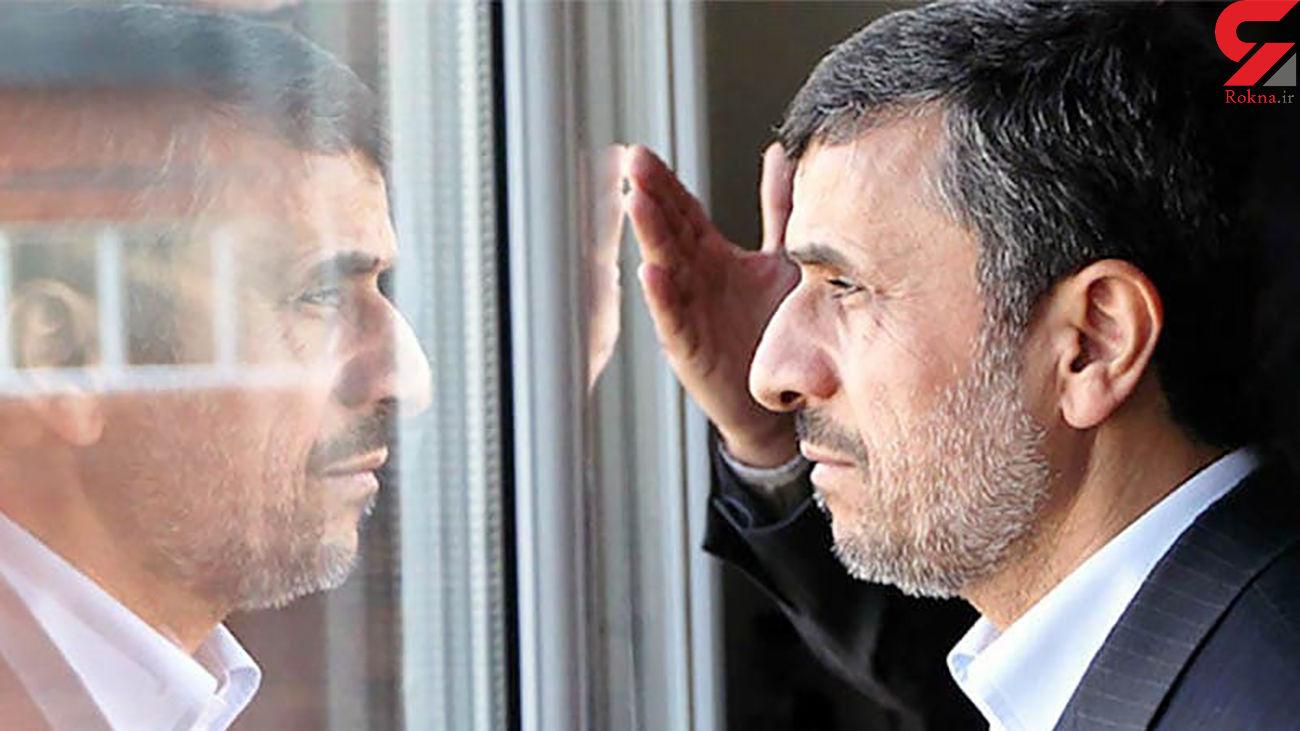 """رویاهای بزرگ احمدی نژاد برای انتخابات ۱۴۰۰ / مشکل او""""دیده شدن"""" است"""