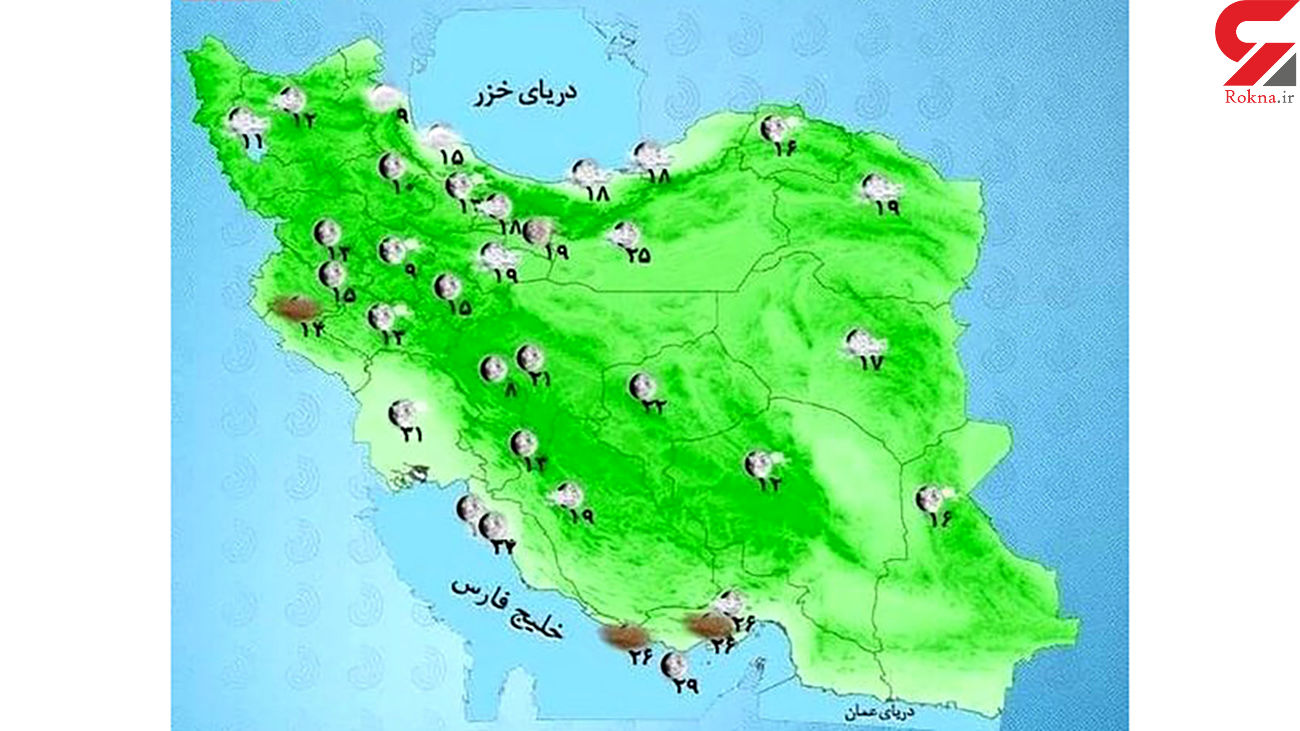 تغییر شدید در آب و هوای ایران / هشدار