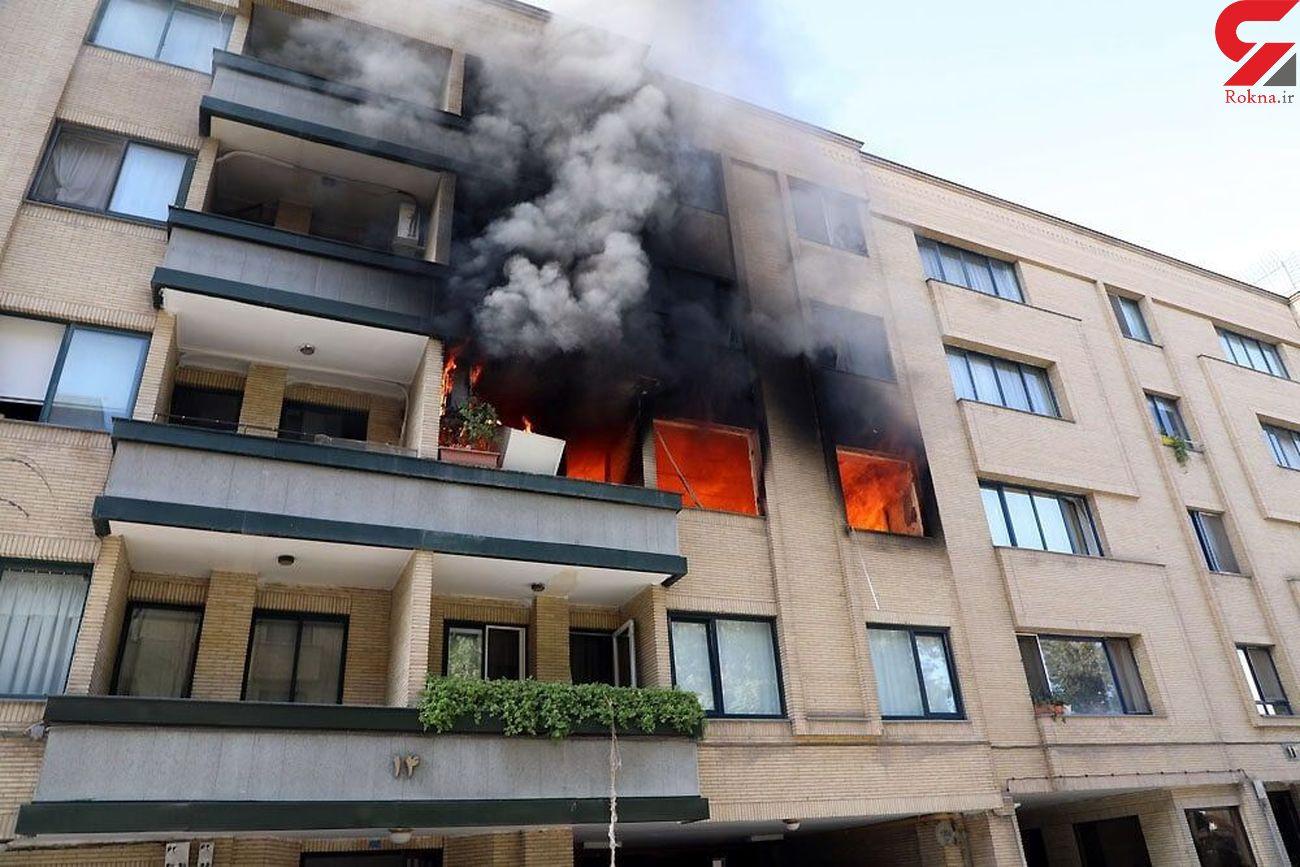 یک ساختمان در مشهد منفجر شد/ چهار نفر از این حادثه جان سالم به در بردند