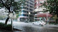 احتمال بارش باران در تهران