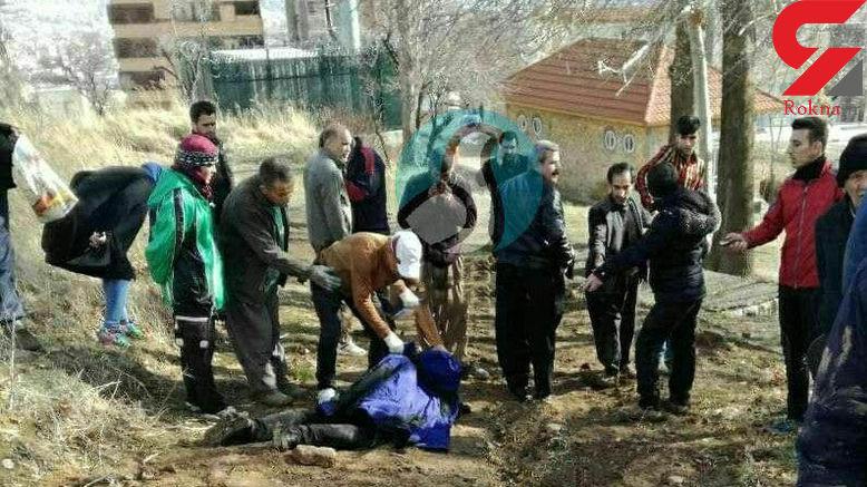 مردی زن جوان را در پارک کودک سنندج سلاخی کرد + عکس تکاندهنده جسد زن