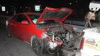 مچاله شدن 5 خودرو در تصادف اتوبان حکیم تهران+ تصاویر