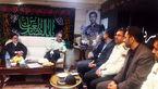 دیدار سردار رحیمی با خانواده شهید طهرانی مقدم