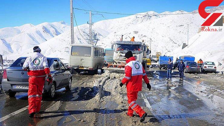 گزارش لحظه به لحظه سقوط بهمن در آبعلی / فقط 3نفر را نتوانستیم نجات دهیم + فیلم و تصاویر