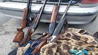 6 شکارچی متخلف در اشنویه دستگیر شدند