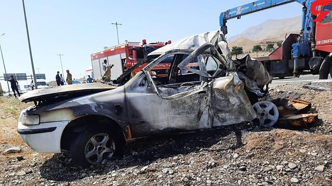 جاده مرگ در چهارمحال و بختیاری باز هم قربانی گرفت