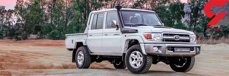 تویوتا لندکروزر Namib خودروی محبوب مشتریان آفریقایی