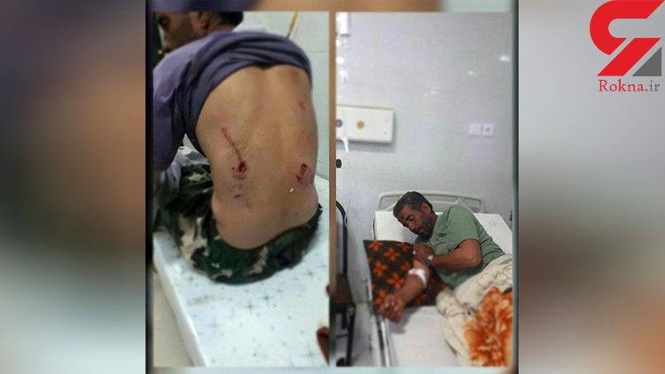 برای چندمین بار خرس به یک مرد در ایذه حمله کرد +عکس
