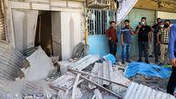 انفجار وحشتناک گاز در روستای افراتخت محمودآباد