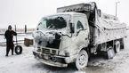 بارش برف و باران در جاده های کشور
