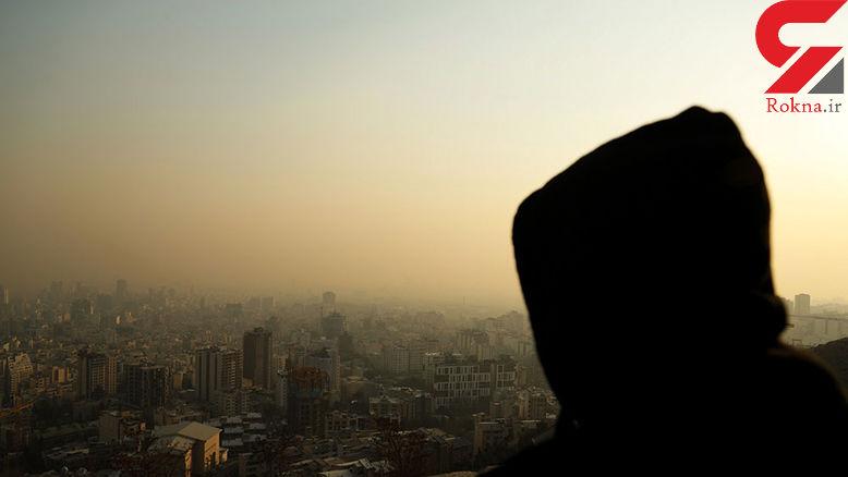هوای پایتخت با شاخص ۱۰۶ ناسالم شد