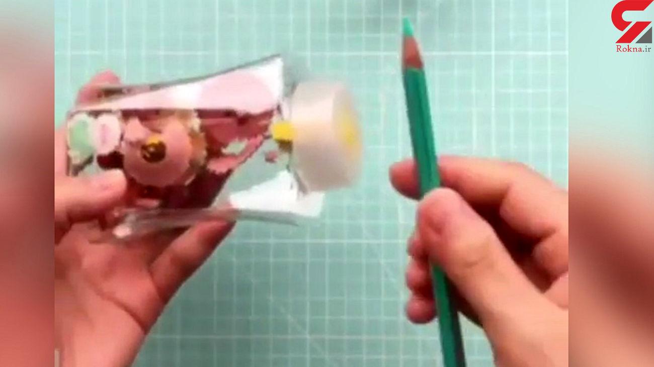 نحوه ساخت تراش رومیزی + فیلم