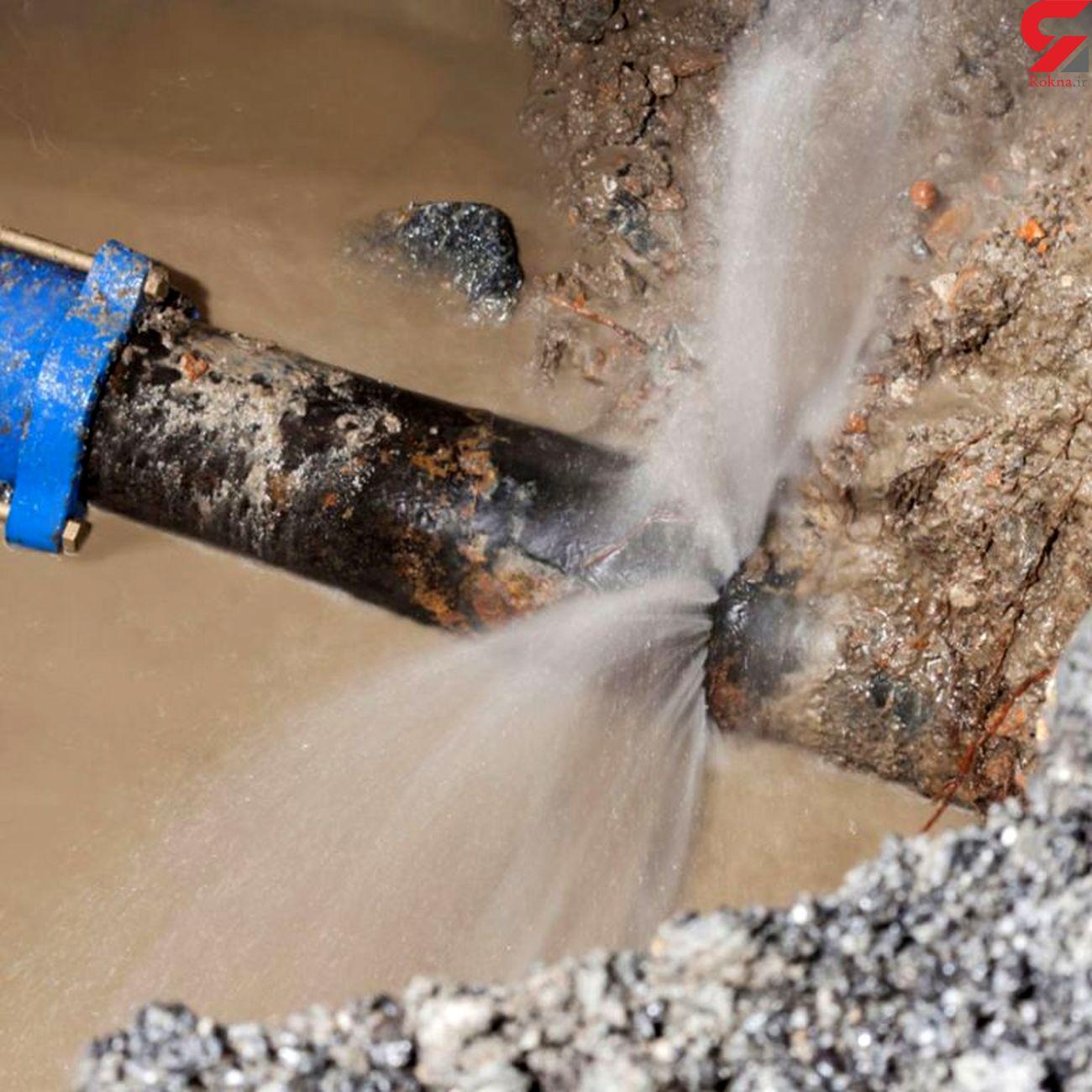 رفع بیش از 1000 مورد نشتی از شبکه های آبرسانی شهری و روستایی کبودراهنگ