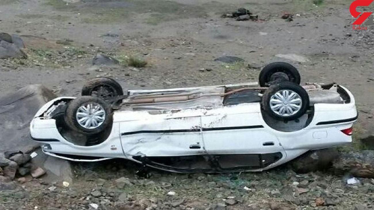 بی توجهی راننده به جلو سرنشین سواری را به کشتن داد