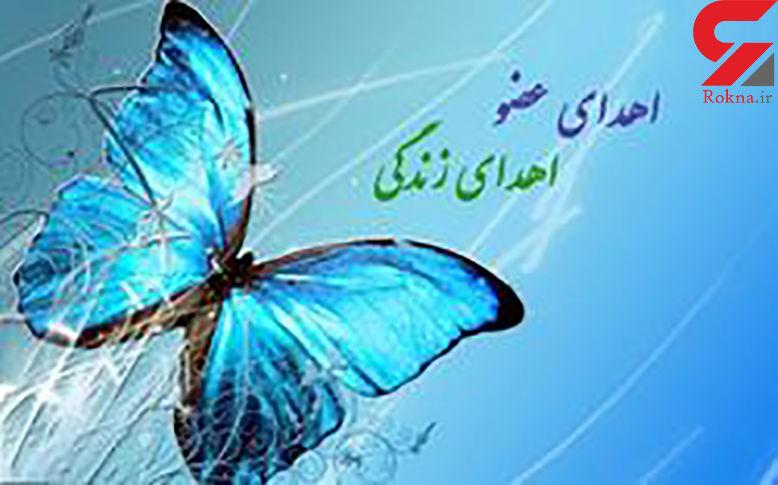 امیررضا حاجی زاده 3 زن را از مرگ نجات داد / این جوان 17 ساله  مرگ مغزی شد