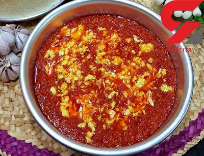 خورش گوجه  غذای خوشمزه شمالی+ طرز تهیه