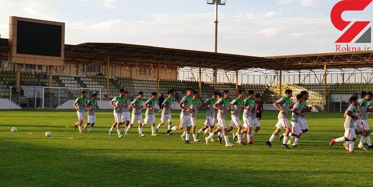 پیروزی تیم فوتبال نوجوانان در دیدار دوستانه