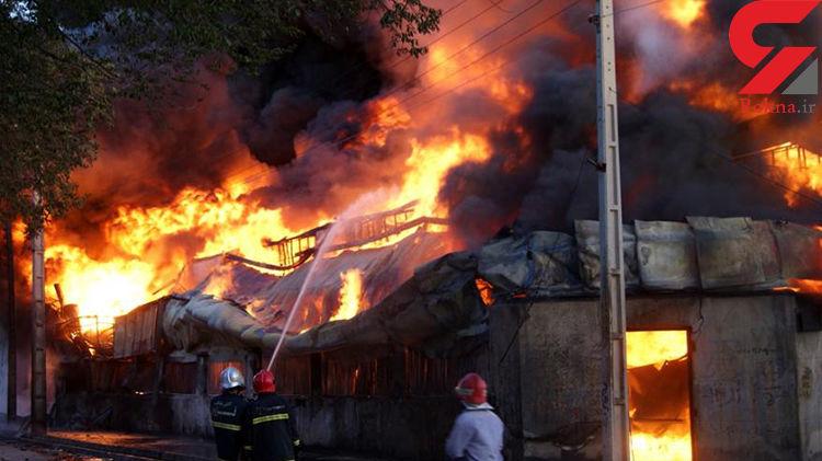رعد و برق 2 خانه را در کرمانشاه به آتش کشید !