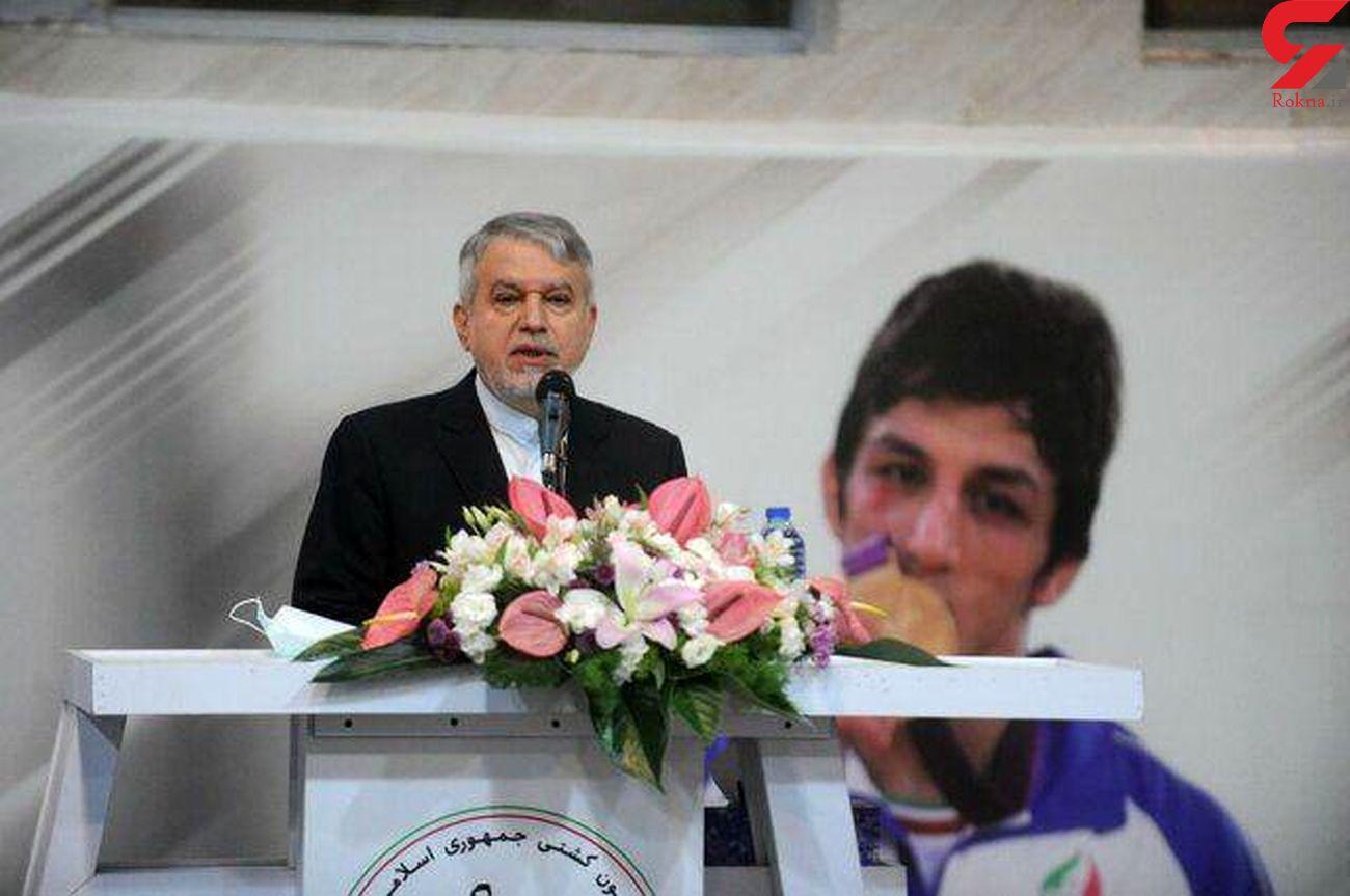 تست کرونای صالحی امیری رییس کمیته المپیک مثبت شد