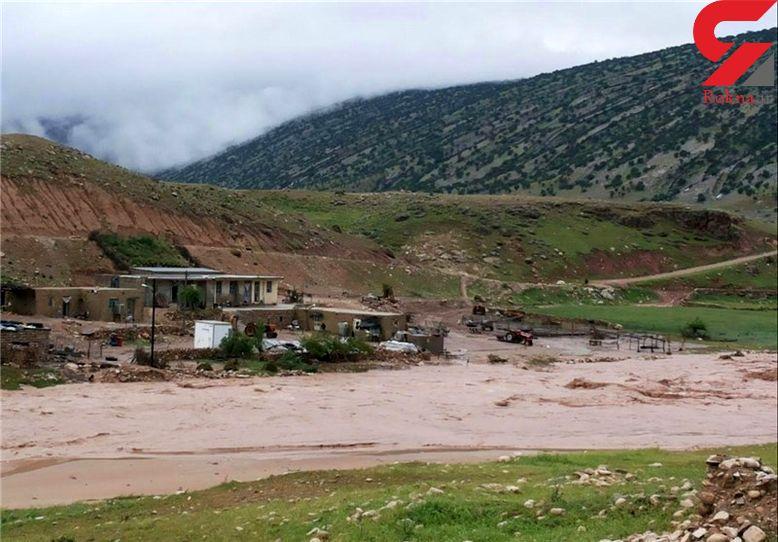 خسارت 500 میلیاردی سیلاب به کوهرنگ