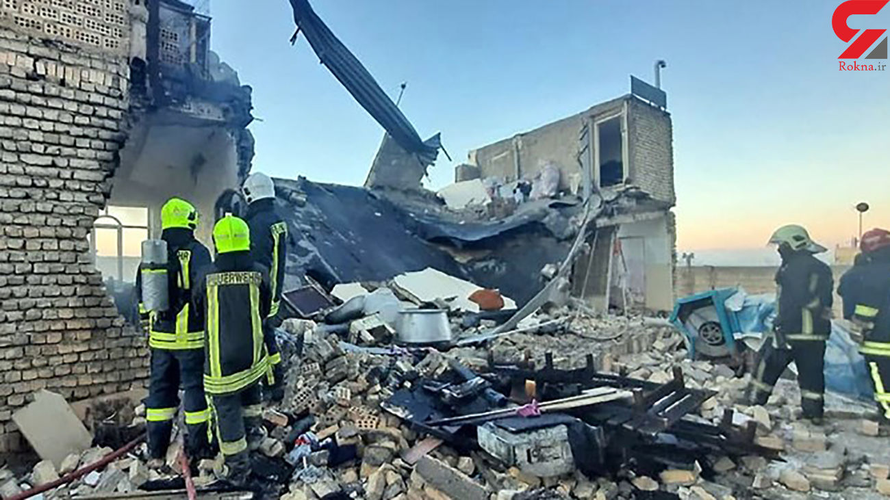 عکس هولناک / انفجار شدید در بلوار رسالت  مشهد