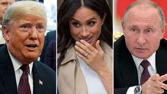 ترامپ، پوتین، عروس جدید خانواده سلطنتی، کدامیک چهره سال خواهند شد؟