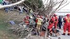 تصادف شدید در بزرگراه شهید ستاری + عکس های تکاندهنده