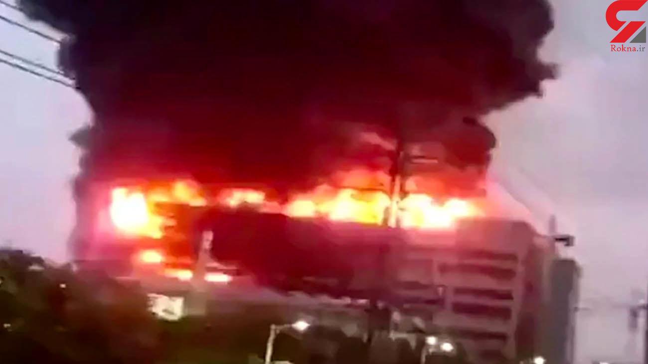 آتشسوزی در کارخانه تأمینکننده اپل / 8 نفر زنده زنده سوختند