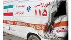 تصادف مرگبار 206 با آمبولانس اورژانس /  2 سرباز جان باختند