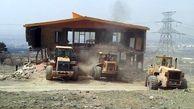 تخریب ساخت و سازهای غیر مجاز در دشتی