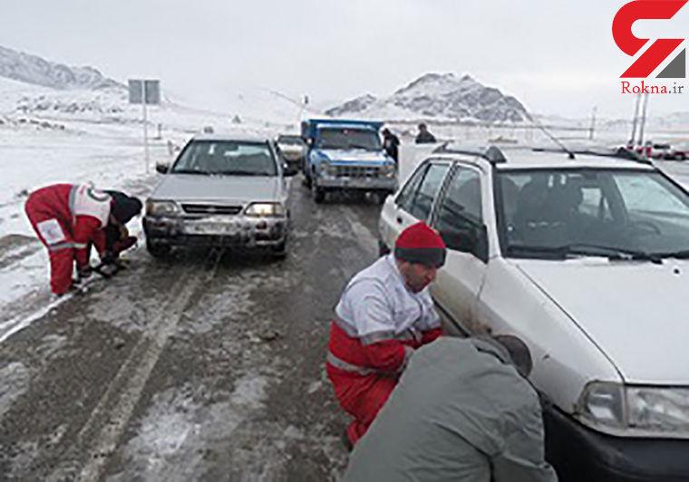 نجات هزاران نفر از مرگ حتمی دراثر برف