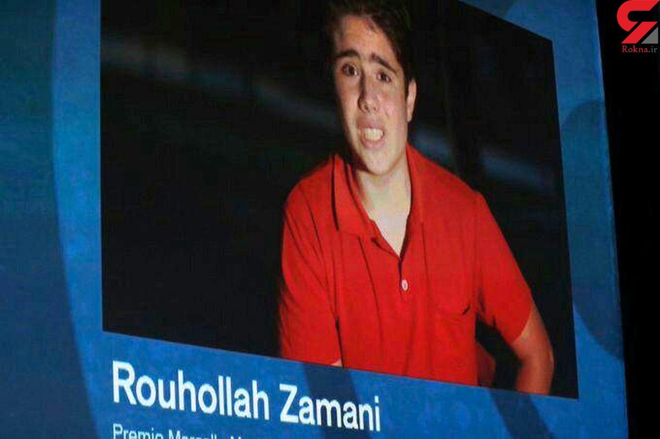 جایزه بهترین بازیگر جوان جشنواره ونیز به روح الله زمانی برای فیلم «خورشید» رسید