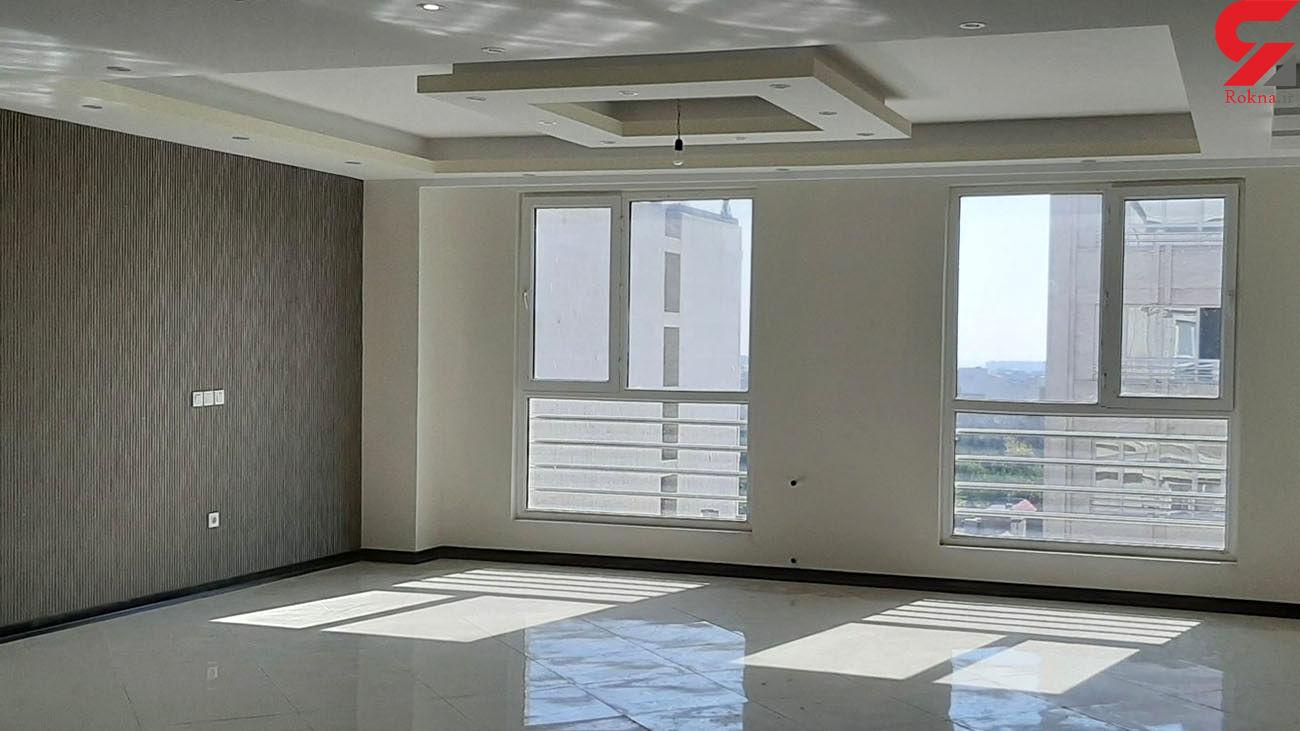 قیمت آپارتمان های متراژ بالا در تهران + جدول