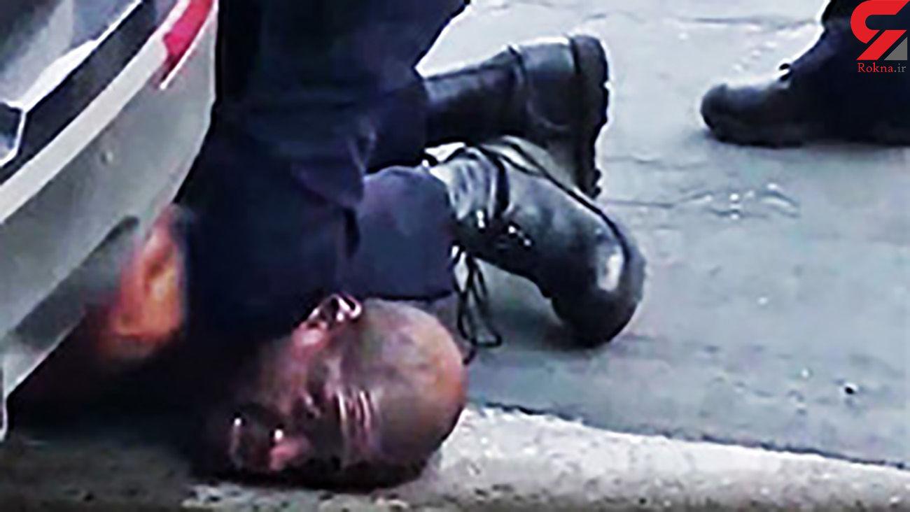 قتل وحشیانه مرد سیاه پوست آمریکایی / 4 نفر دیگر متهم شدند + فیلم و عکس