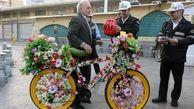 اقدام پلیس راهور برای ترویج فرهنگ دوچرخهسواری + عکس