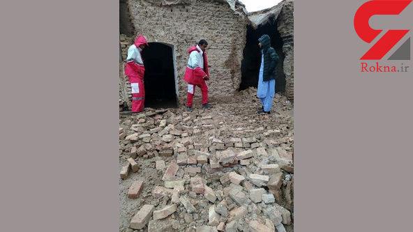 وضعیت روستاهای سیستان و بلوچستان پس از سیل