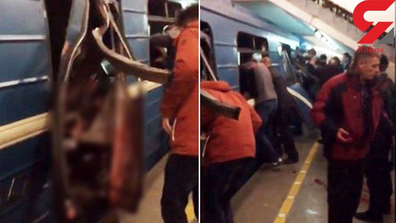 فیلم لحظه خروج مردم از پنجره های  مترو پس از انفجار +فیلم و عکس