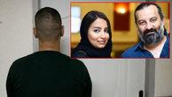 فیلم گریه دختر مهراب قاسم خانی در مواجهه با دزد قمه کش در کلانتری + گفتگو با مهراب قاسم خانی و دخترش