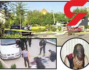 مرگ یک زن در عملیات دستگیری زورگیران خشن +عکس